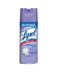 Lysol® Disinfectant Spray - 12 oz., Spring Water Fall   - Case