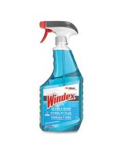 WINDEX  - Glass Cleaner with Ammonia-D-  32oz Capped Bottle with Trigger-  12/Carton